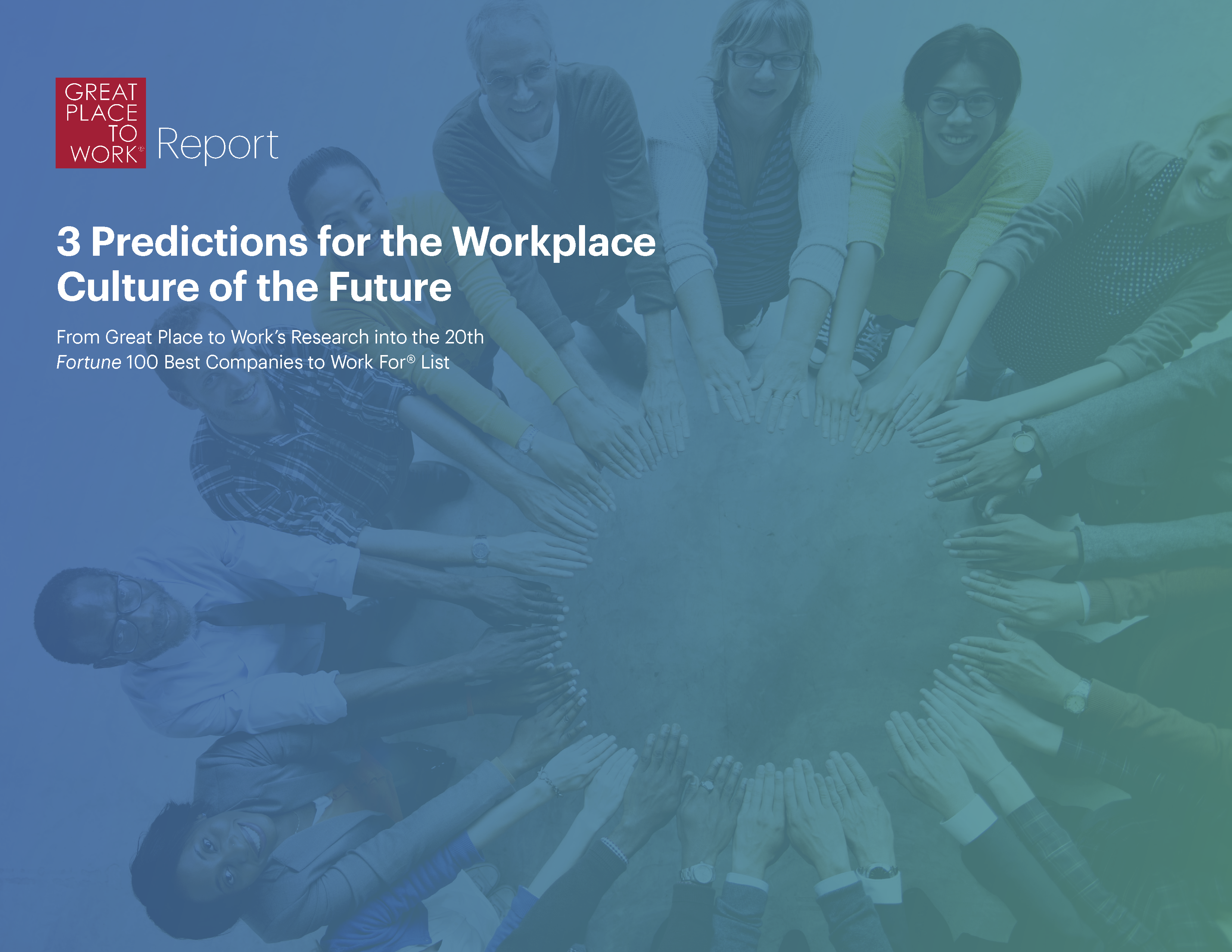 3 predictions for the Workplace Culture of the future